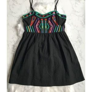 UO  Staring At Stars Embroidered Dress